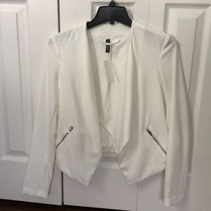 White brand new jacket